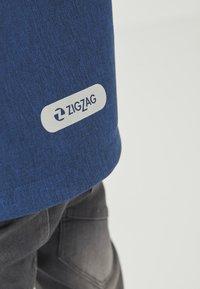 ZIGZAG - MANON MELANGE WATERPROOF - Light jacket - 2012 true blue - 8
