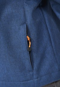 ZIGZAG - MANON MELANGE WATERPROOF - Light jacket - 2012 true blue - 9