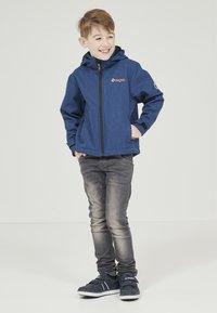 ZIGZAG - MANON MELANGE WATERPROOF - Light jacket - 2012 true blue - 2
