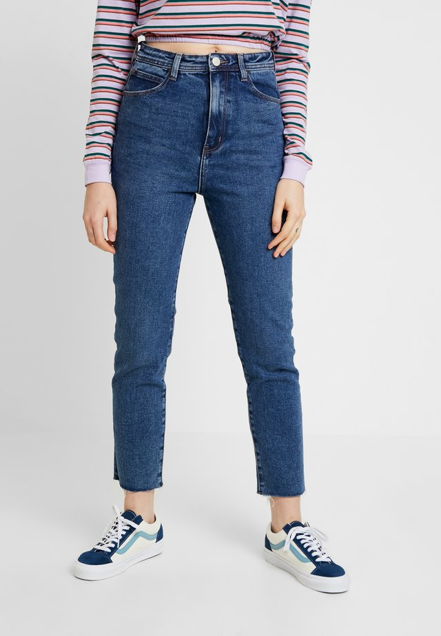 MEET MY MUM STRETCH - Jeans relaxed fit - dark blue eyes