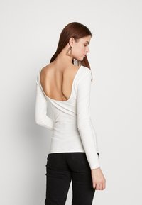 Zign Tall - Long sleeved top - cloud dancer