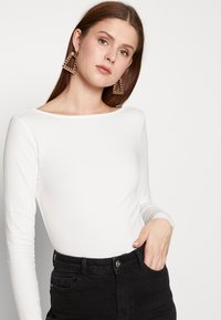 Zign Tall - Long sleeved top - cloud dancer - 3
