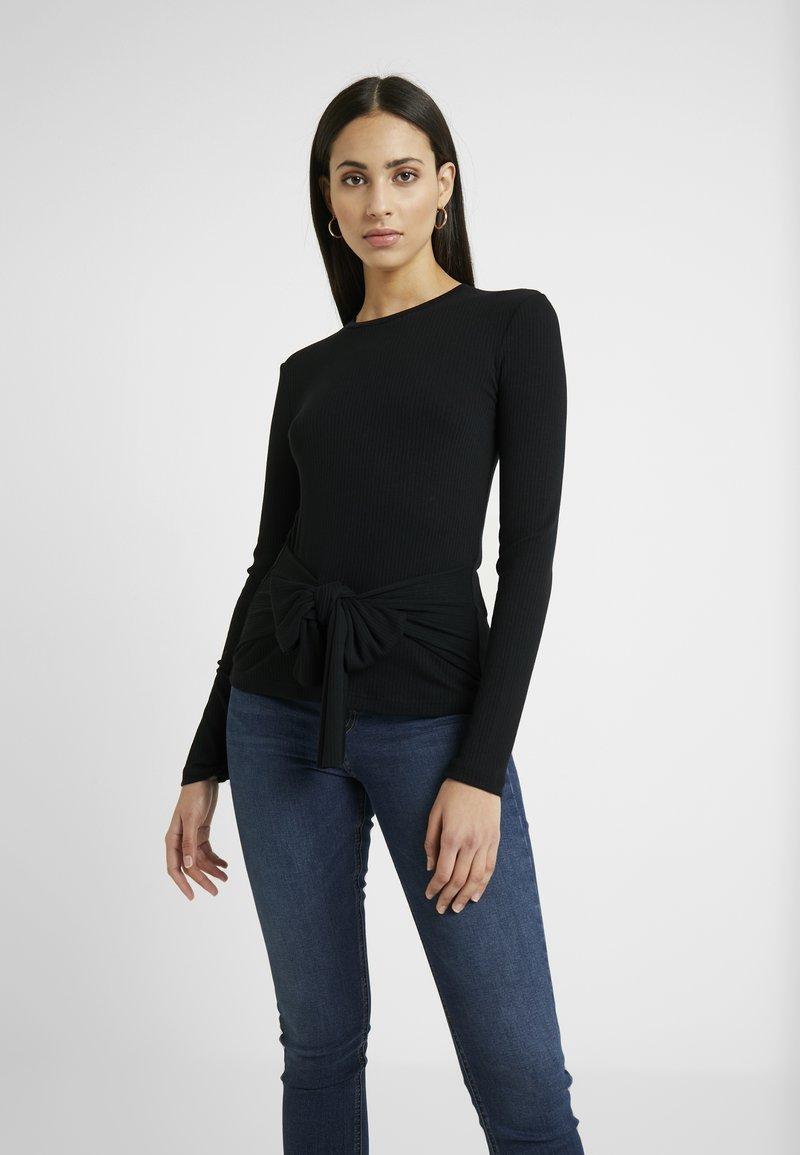 Zign Tall - Stickad tröja - black