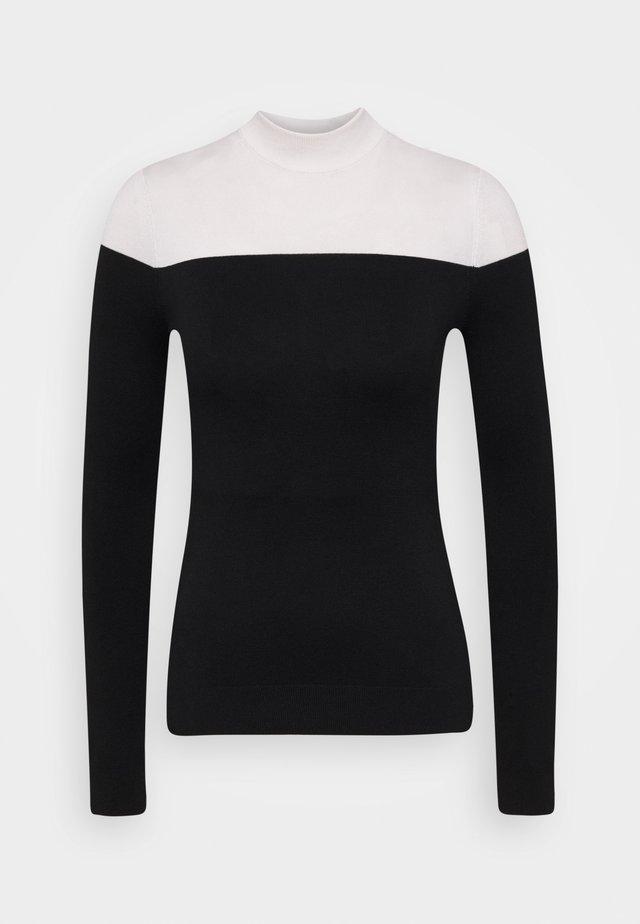 Svetr - black/white