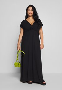 Zign Curvy - Maxi dress - black - 1