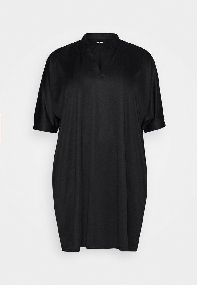 Jerseykjole - black