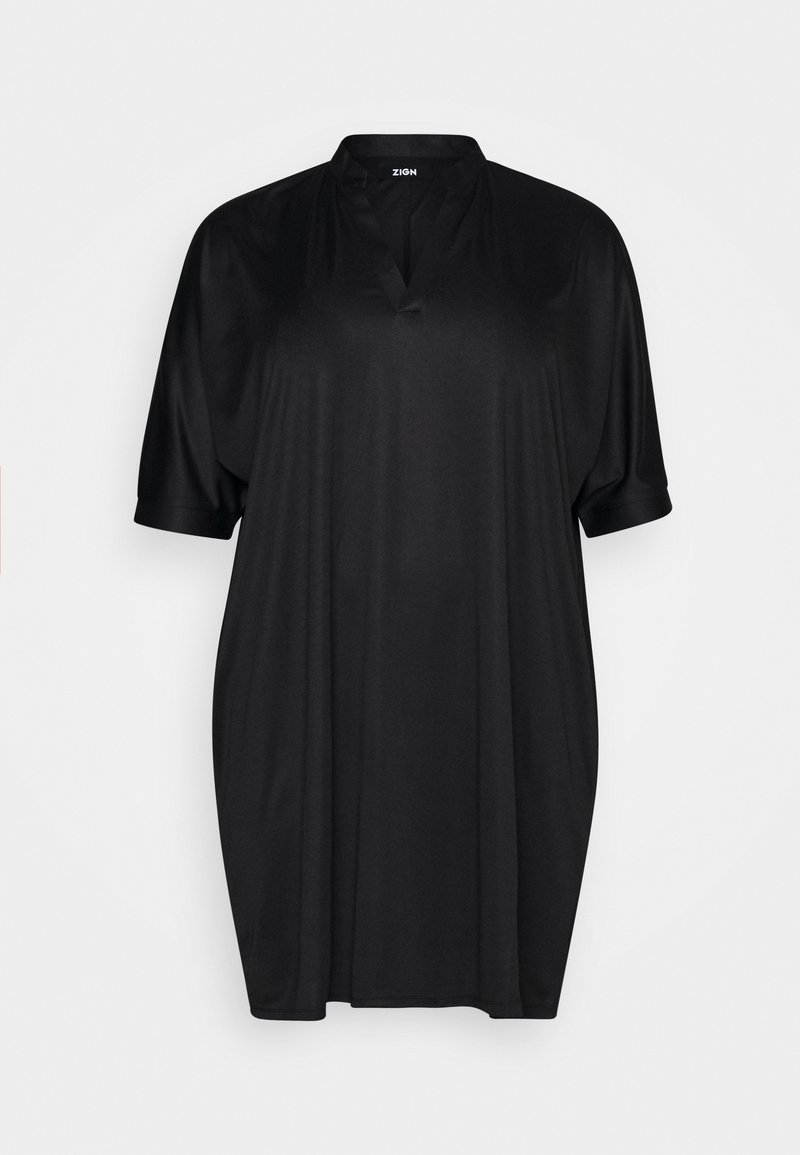 Zign Curvy - Jerseyjurk - black