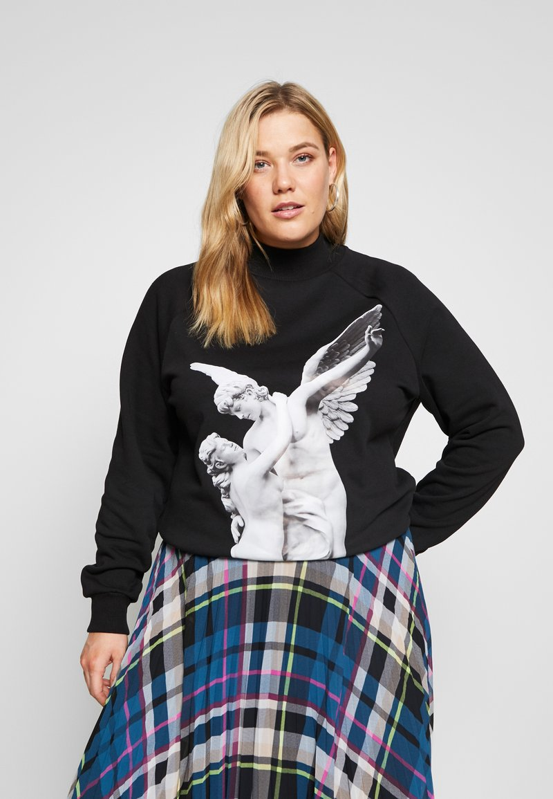 Zign Curvy - Sweatshirt - black