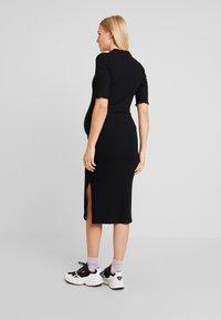 Zign Maternity - Jersey dress - black - 2