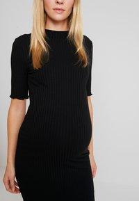 Zign Maternity - Jersey dress - black - 5