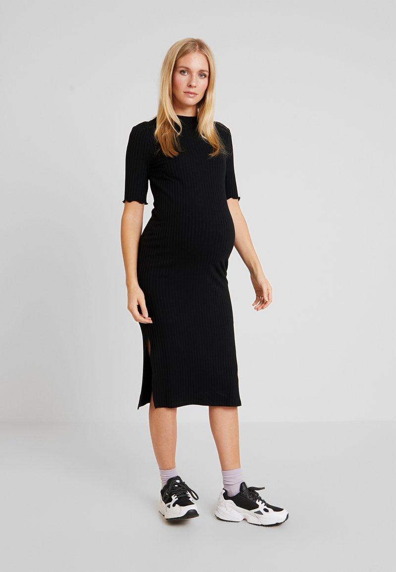 Zign Maternity - Jersey dress - black
