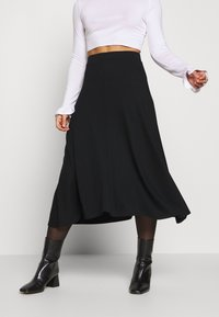Zign Petite - Áčková sukně - black - 0
