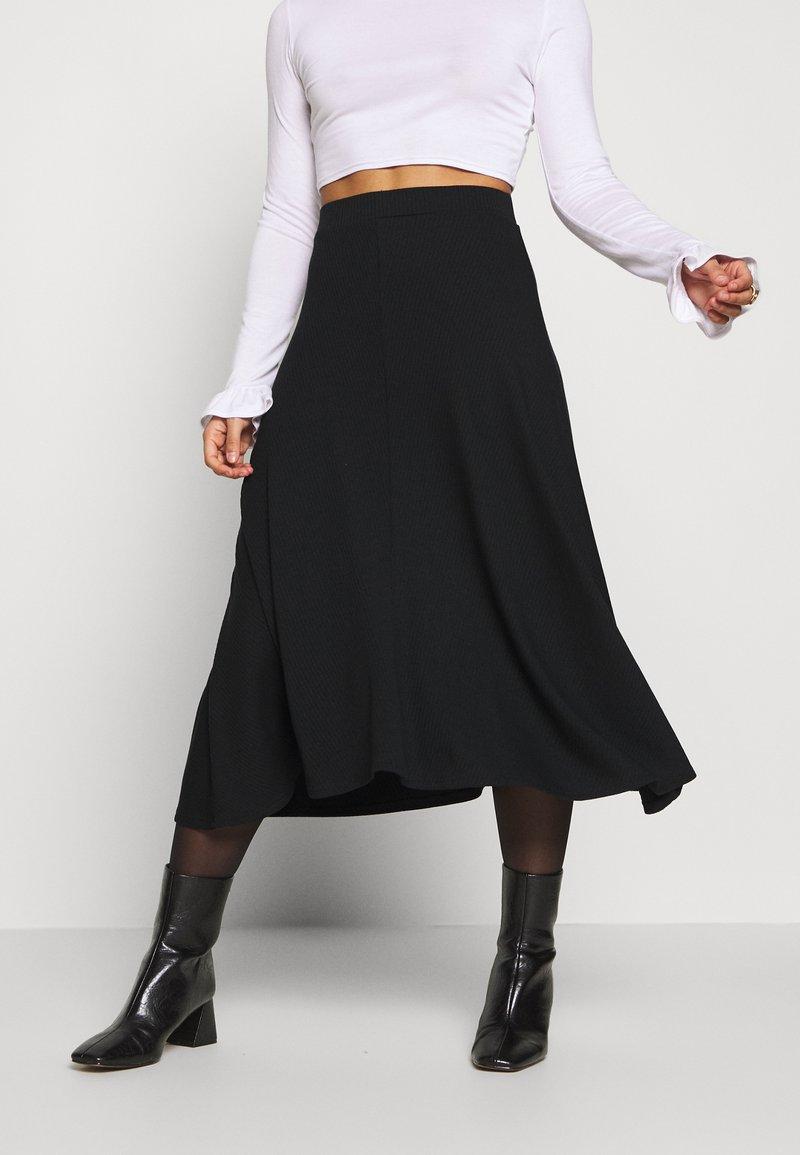 Zign Petite - Áčková sukně - black