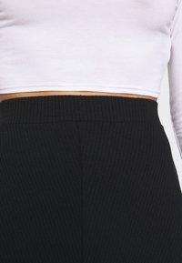 Zign Petite - Áčková sukně - black - 4