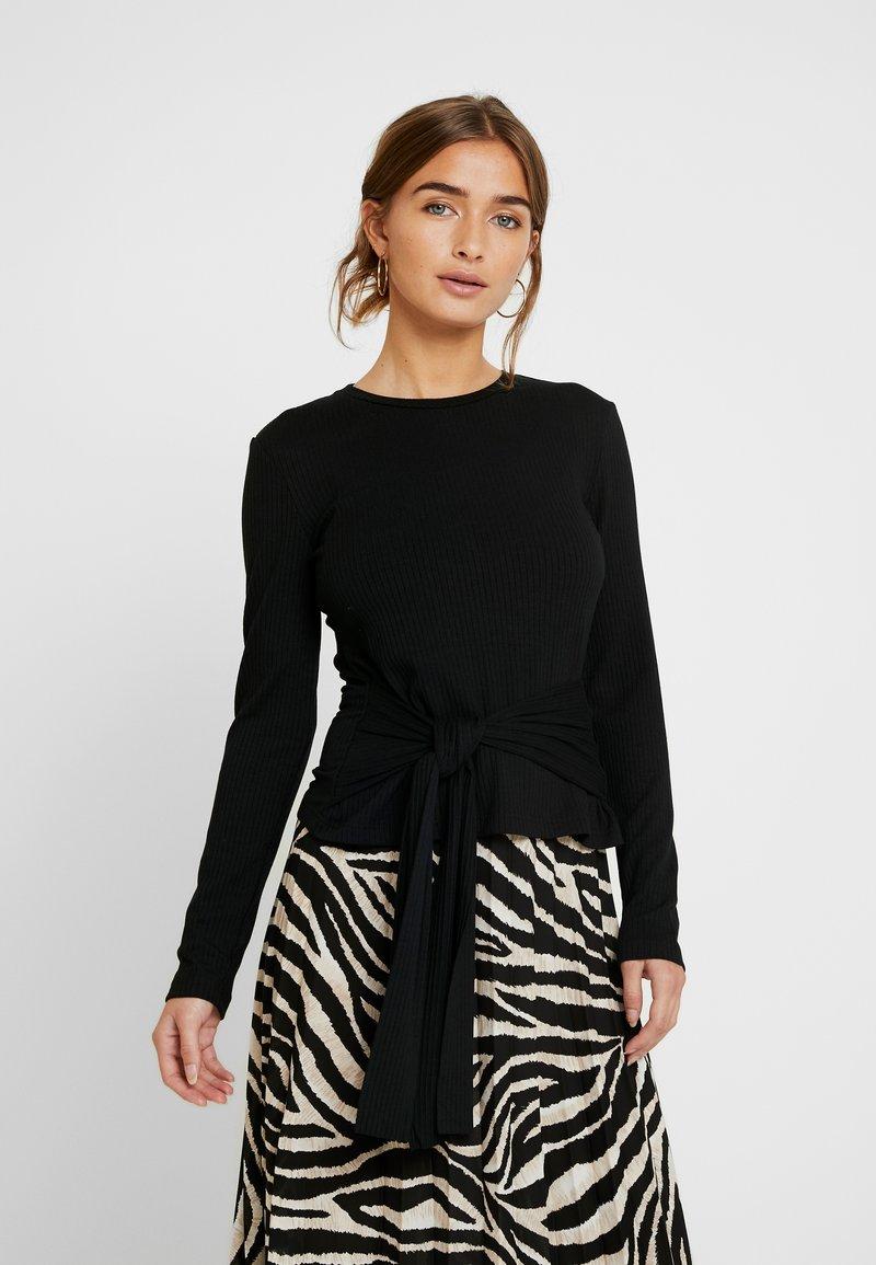 Zign Petite - Stickad tröja - black
