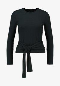 Zign Petite - Stickad tröja - black - 4