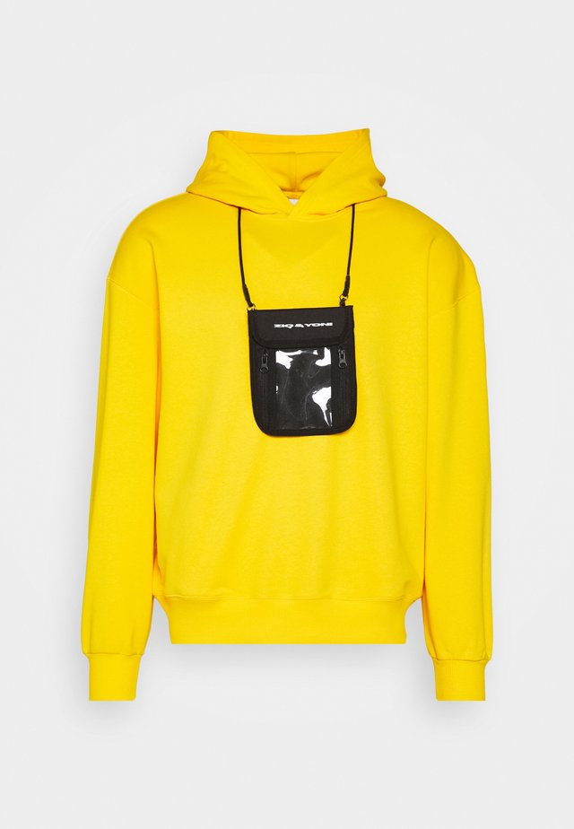 UNISEX POUCH HOODIE SET - Sweat à capuche - yellow