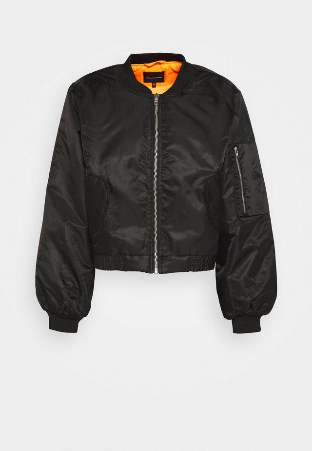 UNISEX JACKET - Bomber Jacket - black
