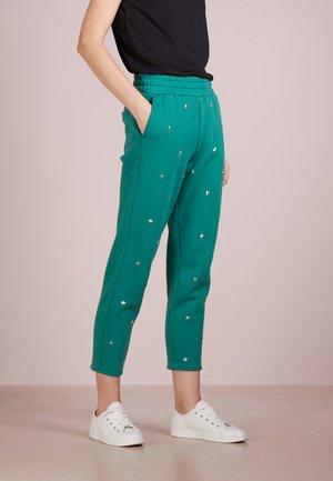 Spodnie treningowe - antique green