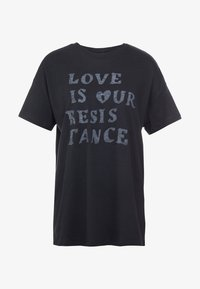 Zoe Karssen - BOYFRIEND FIT - T-shirt z nadrukiem - moonless night - 3