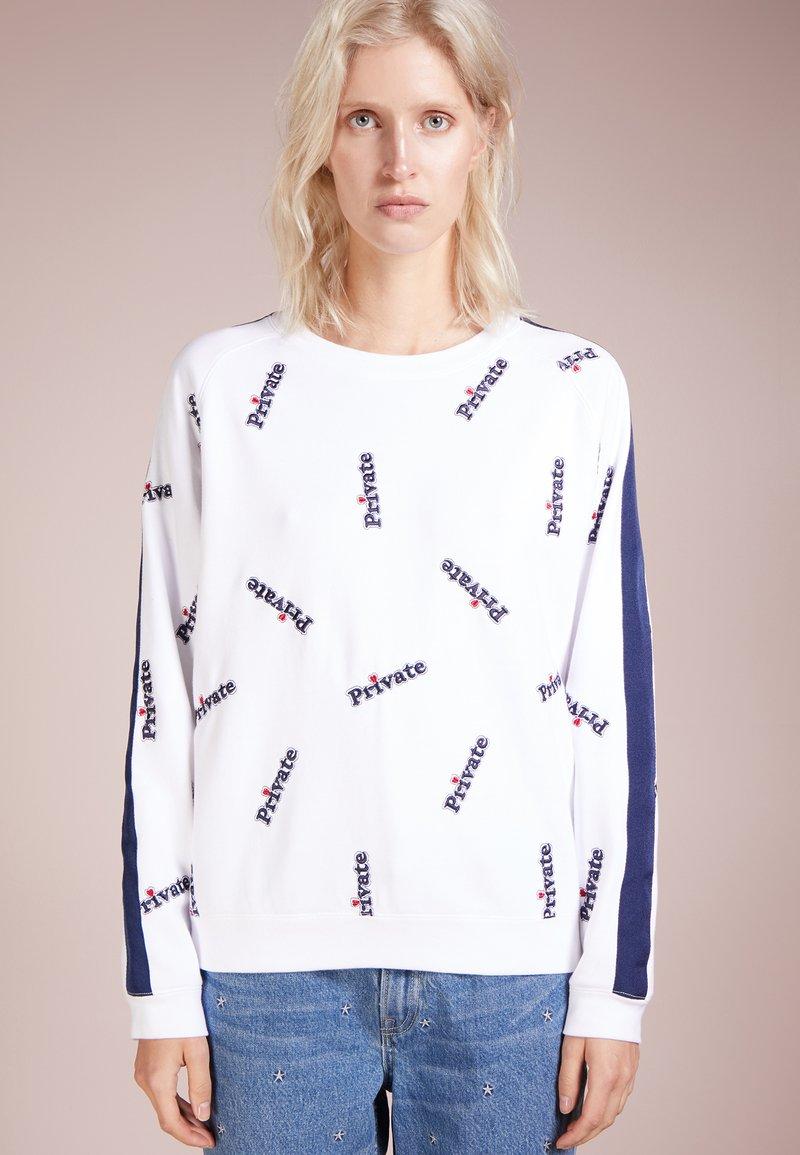 Zoe Karssen - BALOON FIT  - Sweatshirt - optical white