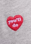 Zoe Karssen - YOU'LL DO ALL OVER - Sweatshirt - grey heather
