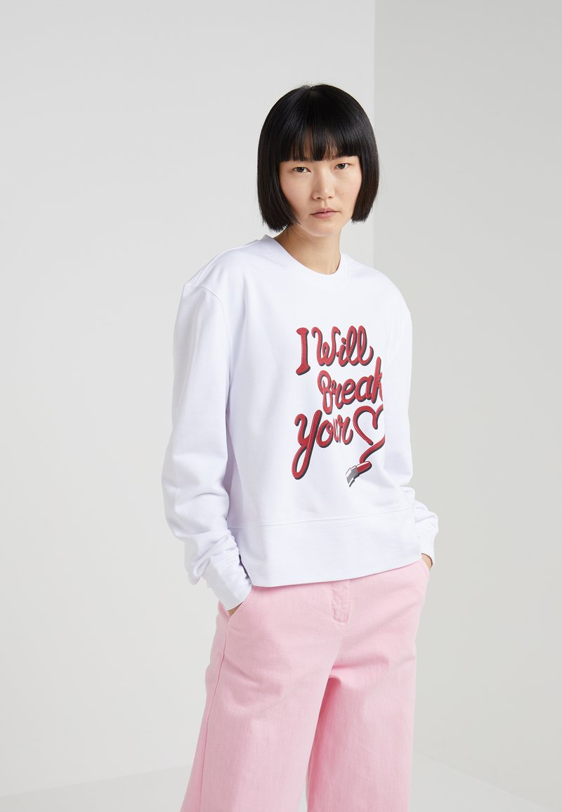 Zoe Karssen - LOOSE FIT - Sweatshirt - optical white