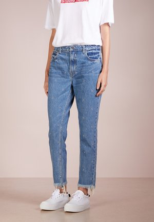 JANIS BOYFRIEND - Jeansy Relaxed Fit - mid wash blue