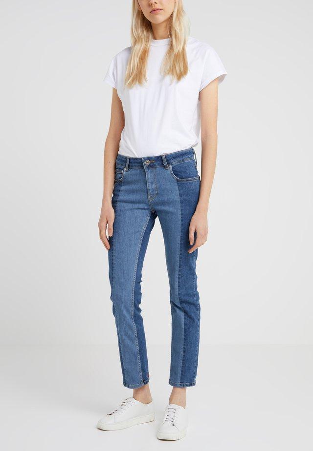 PIPER RISE CIGARETTE - Jeans Skinny Fit - bright blue
