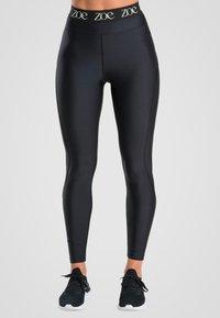 Zoe Leggings - SHINE BRIGHT - Legging - black - 0
