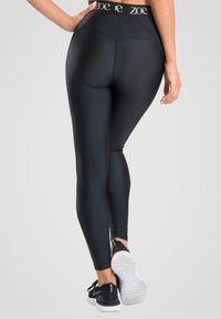 Zoe Leggings - SHINE BRIGHT - Leggings - black - 1