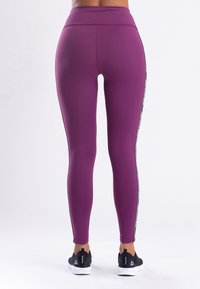 Zoe Leggings - MY STRIPES - Legging - purple - 1