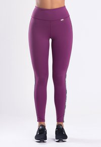 Zoe Leggings - MY STRIPES - Legging - purple - 0