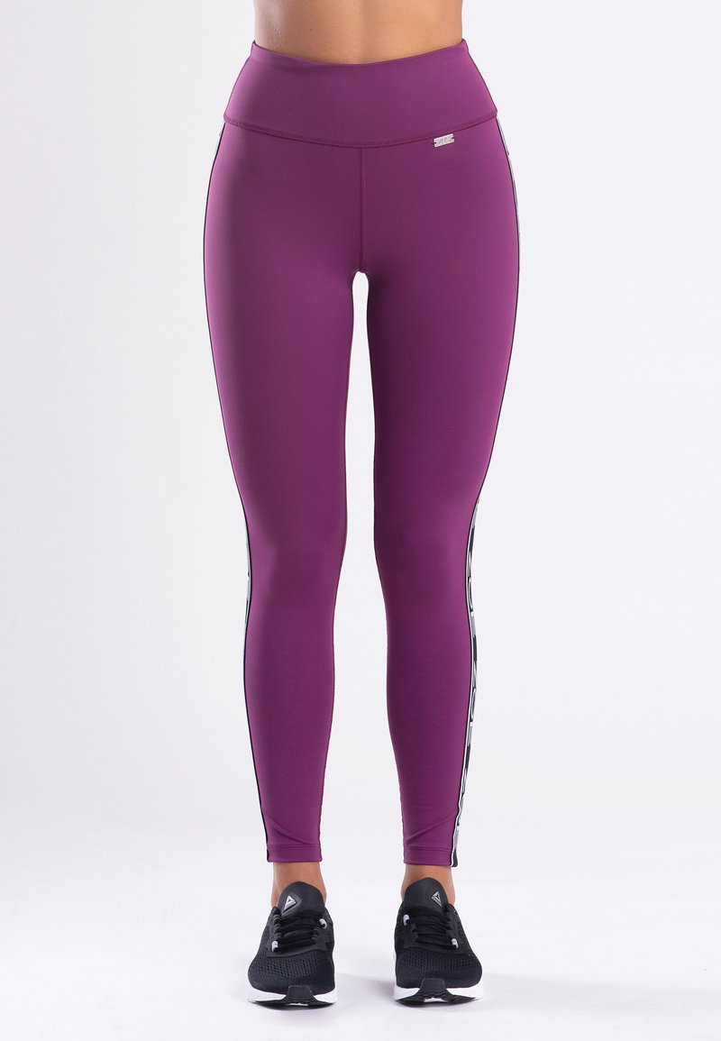 Zoe Leggings - MY STRIPES - Legging - purple