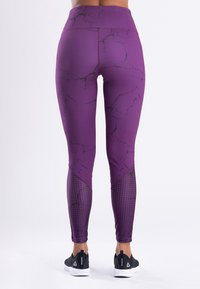 Zoe Leggings - MARBLE  - Legging - purple - 1