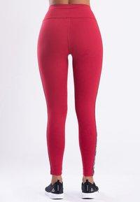 Zoe Leggings - MY STRIPES  - Legging - pink - 1