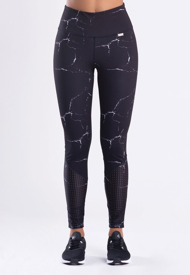 MARBLE - Tights - black
