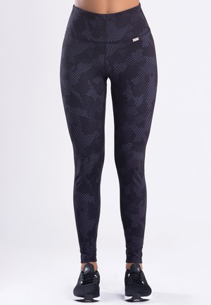 LE CAMOUFLAGE  - Tights - black