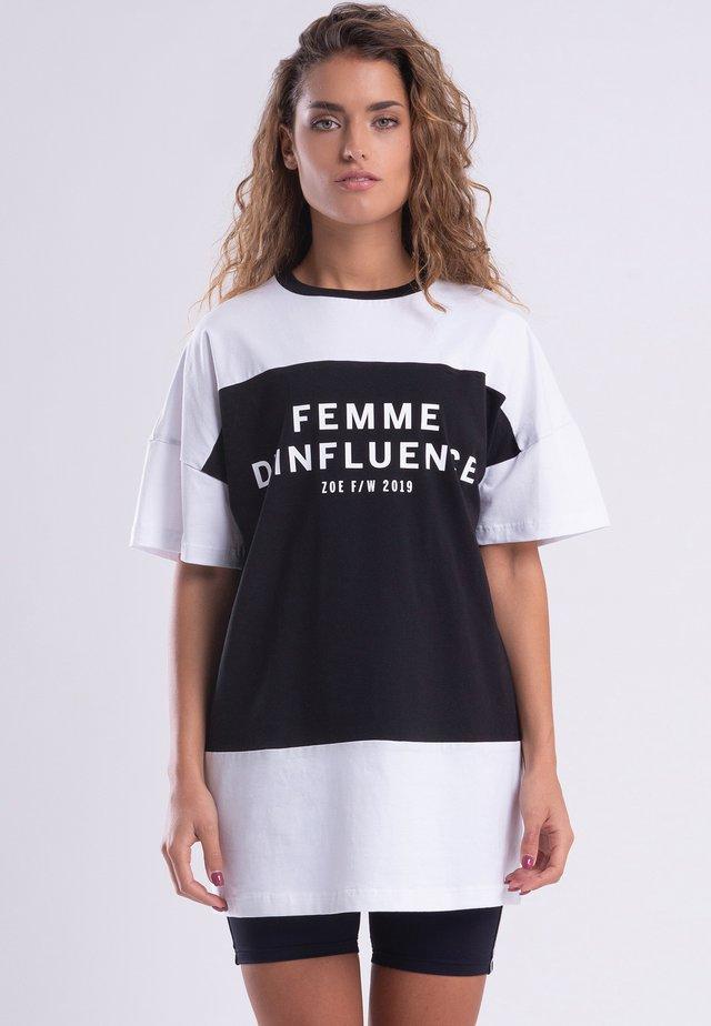 INFLUENCE  - Jerseyklänning - black