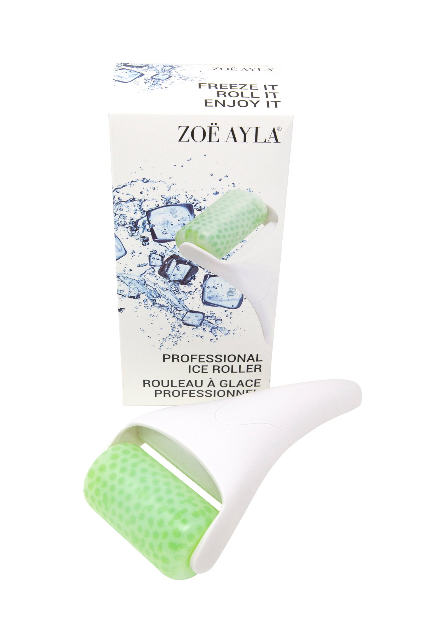 ZOË AYLA PROFESSIONAL ICE ROLLER - Akcesoria do pielęgnacji - white/green