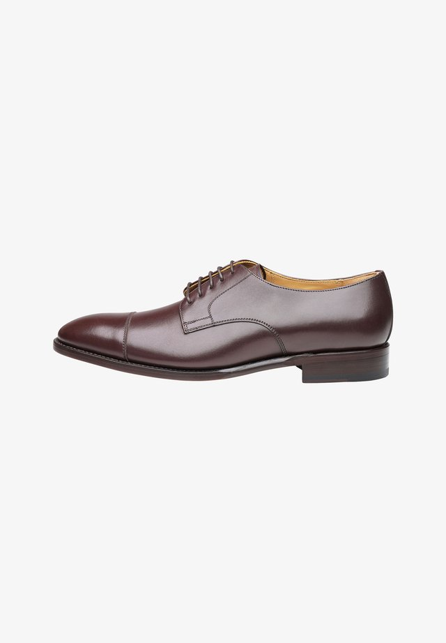 NO. 537 - Smart lace-ups - Dunkelbraun