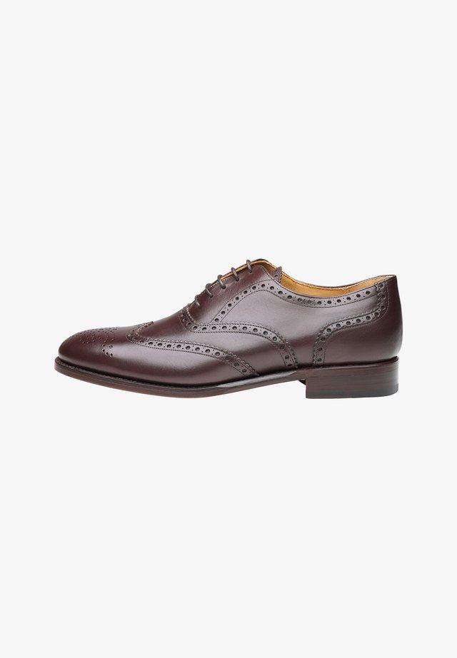 No. 561 - Stringate eleganti - dark brown