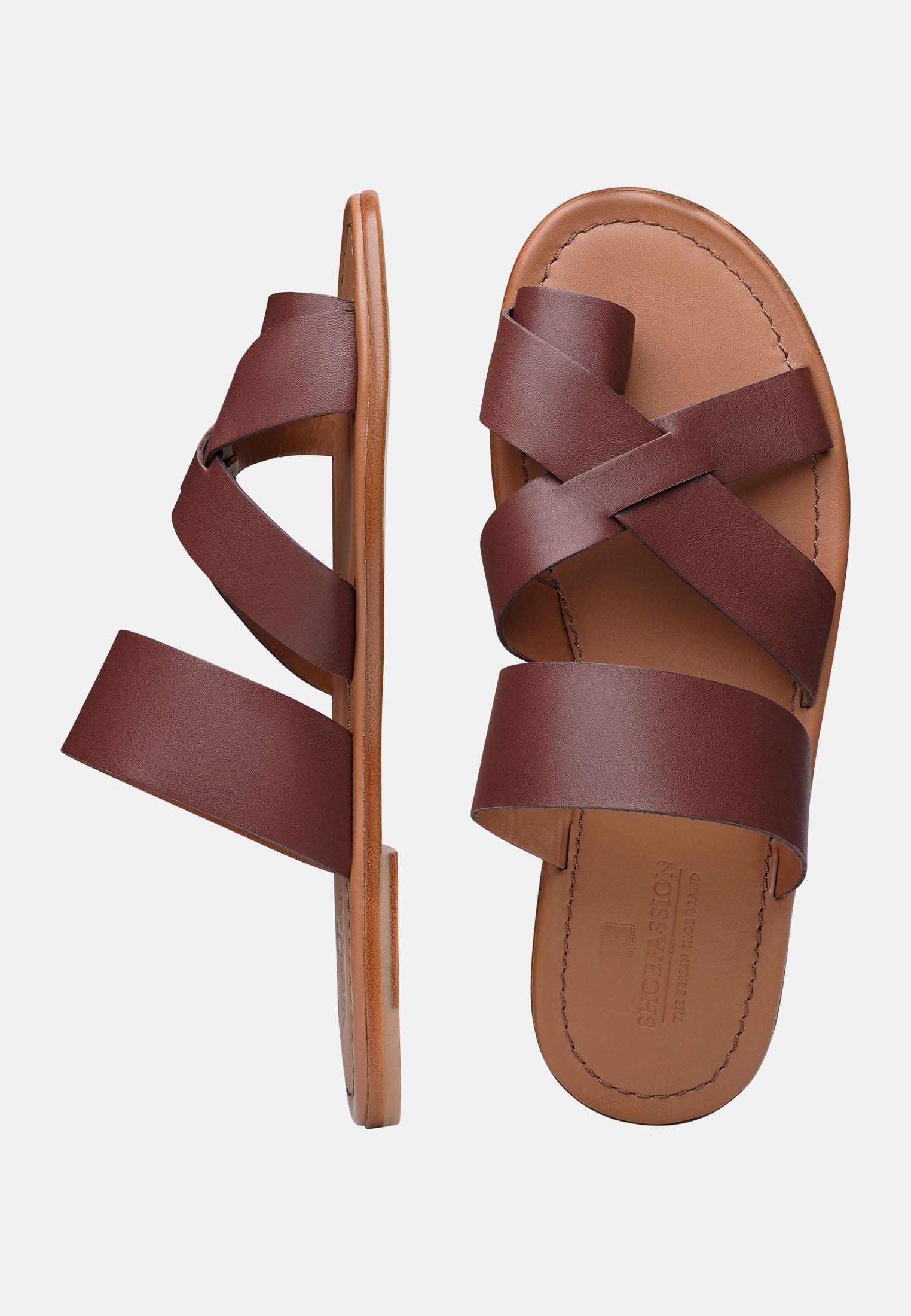 Shoepassion No. 9115 Mp - Teensandalen Dark Brown Goedkope Schoenen