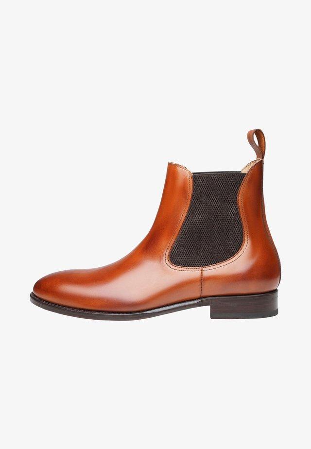 NO. 634 - Korte laarzen - red-brown