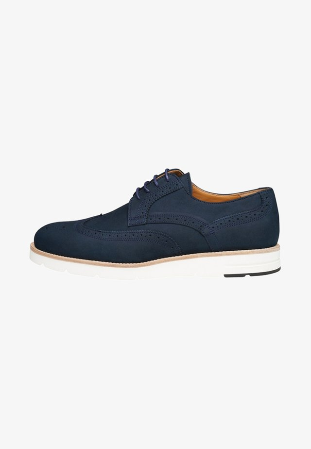 NO. 363 UL - Casual lace-ups - dark blue