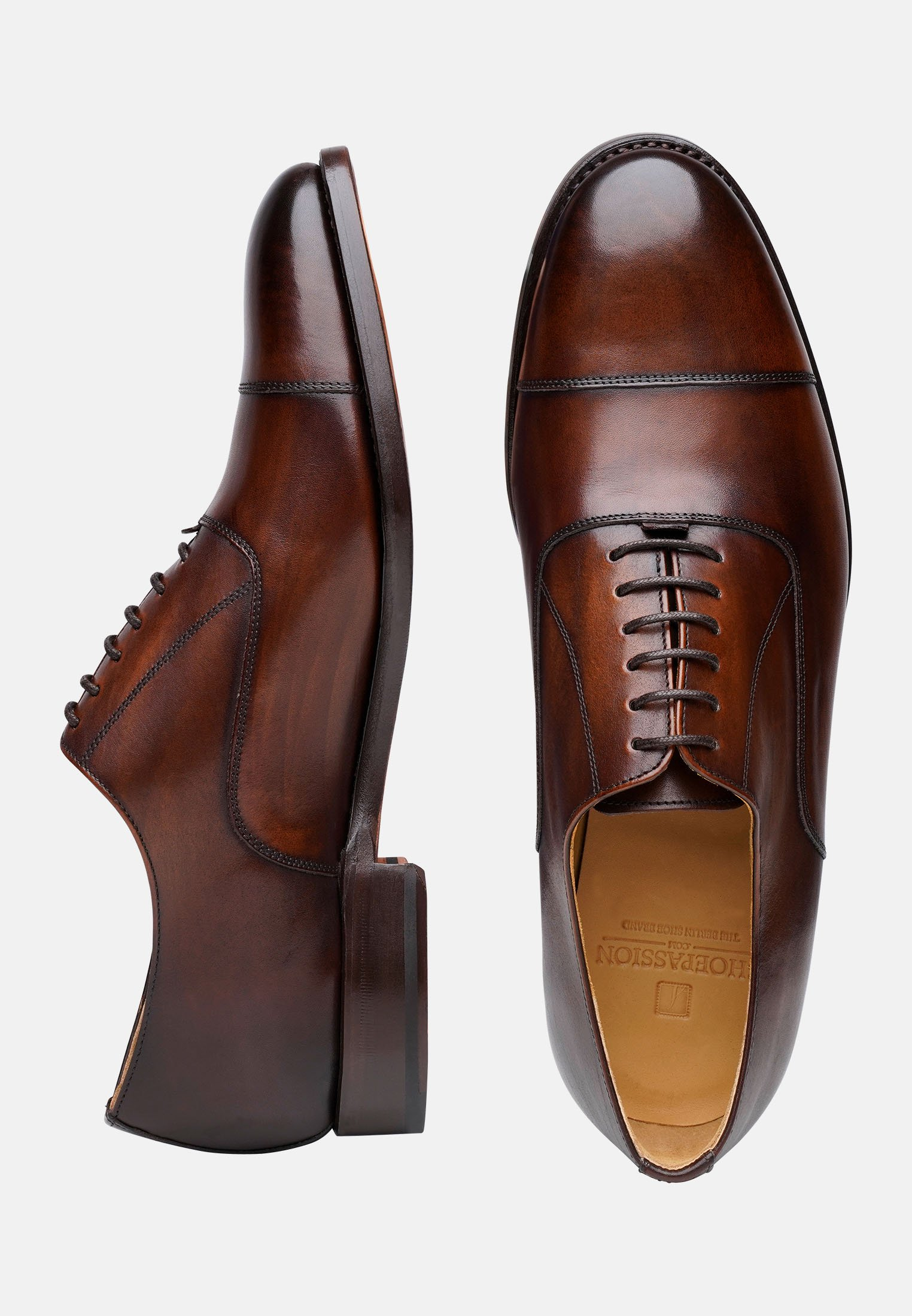 Shoepassion No. 5292 - Derbies & Richelieus Black/brown