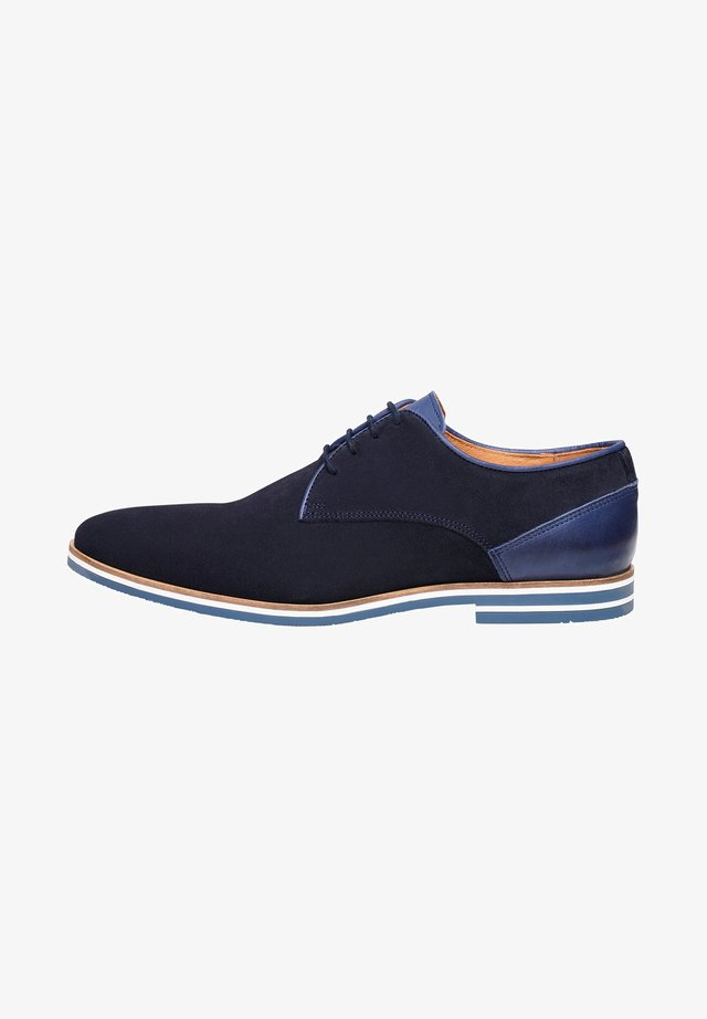 NO. 5301 - Derbies - dark blue