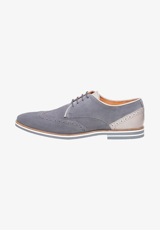 NO. 5300 - Derbies - gray
