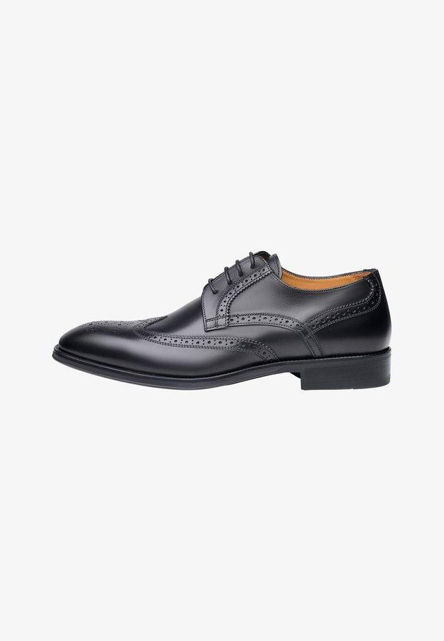 NO. 506 SC - Derbies & Richelieus - black