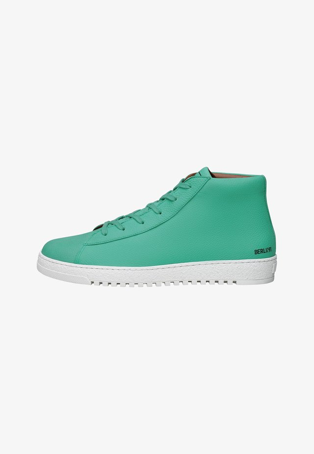 NO. 116 MS - Sneakers hoog - turquoise